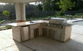 view larger image by the pool outdoor kitchen island houston tx