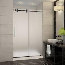 aston langham 48 in x 36 in x 77 5 in frameless sliding shower