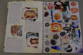 gcse sketchbook exle