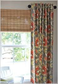 Custom made window treatments in gorgeous floral patterns. Drapery panels  are sewn with 1  inch side hems and double 4 bottom hems.