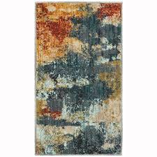 oriental weavers of america brisbane indoor nature throw rug common 2 x 4