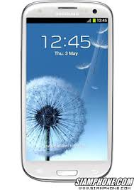 Samsung Galaxy S3 i9300 สมาร์ทโฟน หน้าจอ 4.8 นิ้ว ราคา 11,900 บาท ...