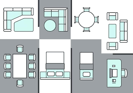 floor plan office furniture symbols. Architecture Plans Furniture Icons Download Free Vector Art Office Symbols For Floor Plan