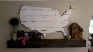 barn wood united states map cutout scroll cut map shabby crazy united states wall art