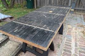 diy dining table from reclaimed wood. step 1: preparing the lane diy dining table from reclaimed wood e