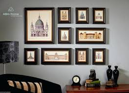 picture frame set wall gallery best of gallery frames set 6 white wall picture mstor info