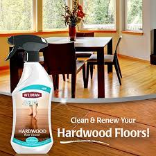 amazon weiman hardwood floor cleaner surface safe no harsh scent safe for use around kids and pets residue free 27 oz trigger home kitchen