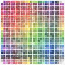 Watercolor Color Chart Watercolor Color Chart Comforters