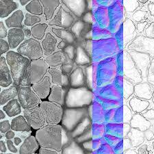 ArtStation - Snowy Cobblestones, Fernando Quinn