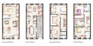 brownstone house home planore brownstone house plans modern house plans for narrow lots brownstone brownstone house