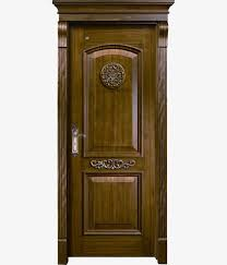 retro old door wooden carved dark png image and clipart