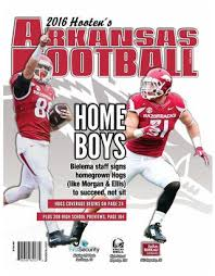 Design 2016 Hootens Arkansas Football Statewide Edition