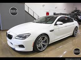 Sport Series bmw m6 gran coupe : 2016 BMW M6 Gran Coupe; White, Competition Pack, 1.5k Miles