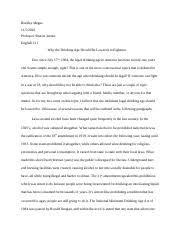 engmoduleessay docx mckenna brady mckenna dr swafford  6 pages argumentative essay docx
