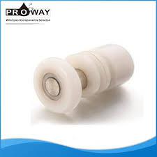 shower door pa nylon material track sliding guide cabinet sliding door roller