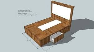platform bed with drawers plans. DIY Queen Size Storage BedIncludes Cutting Plans \u0026 Directions For Frame  - Can Use Baskets Or Make Drawers The Six Compartments. Platform Bed With B