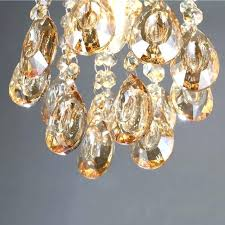 small crystal chandelier for closet luxury mini small crystal chandelier lighting fixture with champagne teardrop crystals
