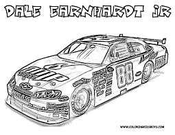Nascar Coloring Pages Free Printable Full Force Race Car Nascar Kids
