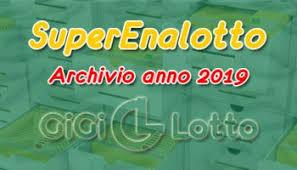 Überprüfen sie die gewinnzahlen von superenalotto für 03.05.2021 und archivnummern. Archivio Superenalotto 2021 Gigi Lotto