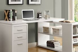 full size of desk small corner desk with drawers white office furniture ideas using white