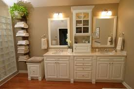 Bathroom Towel Decor Bathroom Storage Large Built In Shelving And Cabinets For Lots Of
