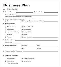 Operation Plan Outline Printable Business Plan Template Ellipsis