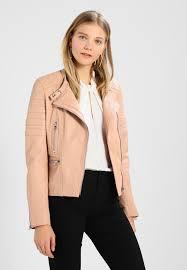 biker leather jacket rosy
