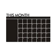 chalk wallpaper removable blackboard wall sticker vinyl month schedule chalkboard