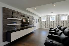 diy rustic entertainment center home theater contemporary with recessed lights built