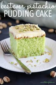 Best Ever Pistachio Pudding Cake The Busy Baker