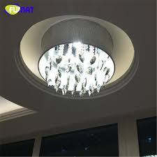 fumat smoke grey crystal chandelier modern suspension light for living room bed room gray shade light led k9 crystal chandeliers wrought iron chandeliers