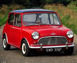 The Mini Mini Named Britains Favourite Car Of All Time Daily Mail Online