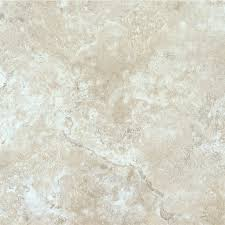 Peel And Stick Kitchen Floor Tile Shop Armstrong Terraza 12 In X 12 In Chalk Peel And Stick Marble