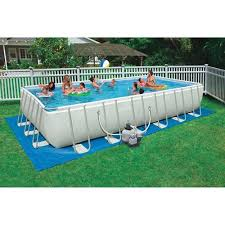 Intex 24 x 12 x 52 Ultra Frame Rectangular Above Ground Swimming