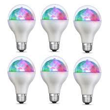 Light Ball Home Depot Feit Electric 5 Watt E26 Medium Base Multi Color Rotating