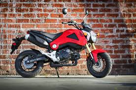 A New Bike On The Street Honda Grom Abraxas Nu