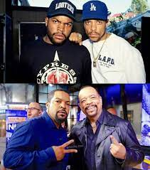"""ICE T on Twitter: """"Cool Pic. Then and ..."""