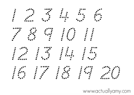 dot to dot number. Unique Dot Dot To Numbers Free Printables  Free Number Tracing Worksheets  Inspirational Dots Printables On Dot To Collections