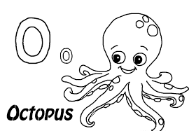 Small Picture Cute Octopus Coloring Pages GetColoringPagescom