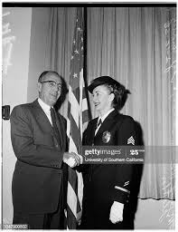 Policewoman of the Year', 10 February 1958. Sergeant Audrey Fletcher...  News Photo - Getty Images