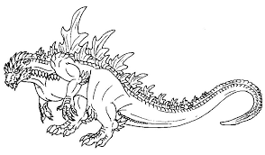 Small Picture Recreational break 10 Godzilla coloring pages and pictures Print