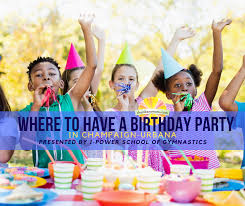 Child S Birthday Party Where To Have A Birthday Party In Champaign Urbana