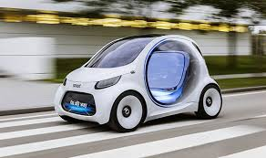 Mercedes New Electric Car Smart Vision Eq Fortwo Will Drive Itself