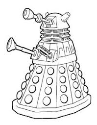 Small Picture Free and printable 17 page Doctor Who coloring and activity book