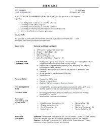 Computer Skills Cv Resume Example On Social Media Practical Enchanting Resume Computer Skills