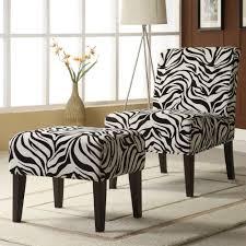 decor zebra print lounge chair and ottoman set 2017 animal
