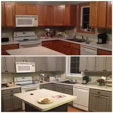 astonishing chalk paint for kitchen cabinets within before and after painting my kitchen cupboards with annie