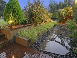 Small Picture Deck Gardens Landscaped Garden Design Using Grass With Deck