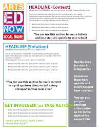 get templates for logos flyers arts ed now infographics or make your own to make your flyer visually attractive