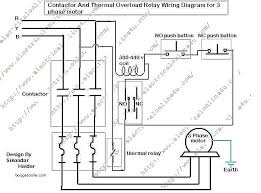 contactor and thermal overload relay wiring diagram schematic full size of contactor and thermal overload relay wiring diagram schematic circuit diagrams o wi